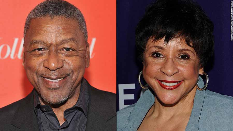 Bob Johnson y Sheila Johnson